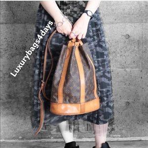 Monogram Randonnee PM Laundry Bag by Louis Vuitton